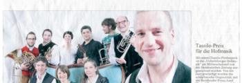 Tassilopreis für Unterbiberger Hofmusik